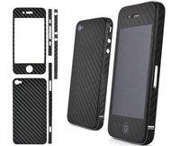 Mix order! high quality PVC fiber sticker for iphone 4 via DHL 100pcs/lot