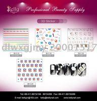 FREE SHIPPING 40PCS/LOT 4 Types Mixed 2D Nail Art sticker