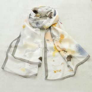 Free shipping Designer silk scarfs,women's real silk shawls 100% real silk shawls 229(China (Mainland))