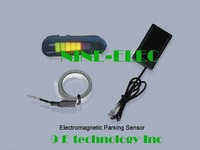 free shipping LED display factory wholesale Electromagnetic parking sensor, easy installation, no dirl on bump (DIY)