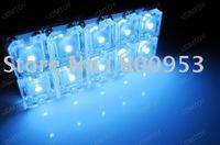 Wholesale Freeshipping 100pcs/Lot 10FLUX LED Car PCB Dome Light Bulbs Wedge T10 BA9S T10*36mm 10FLUX