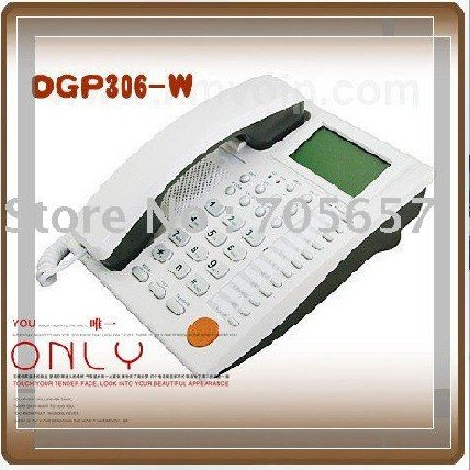 Multi-function VoIP SIP Phone IP Phone DGP306-W High Quality internet desk phone(China (Mainland))