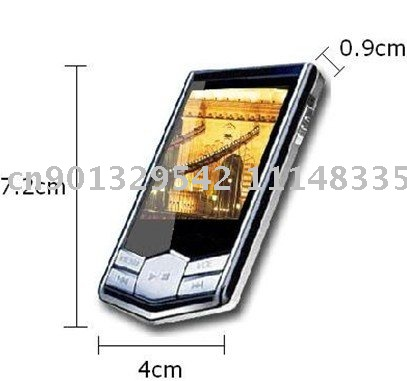 "New arrival 8GB Slim 1.8""LCD MP3 MP4 Player with FM Radio ,Free shipping!!!(China (Mainland))"