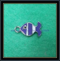 free shipping 100pcs/lot,wholesale and retail lovely fish enamel charms,alloy charms,pendant,best jewelry accessories