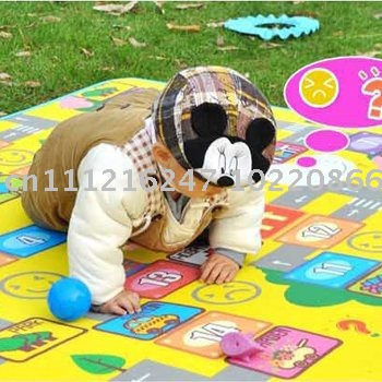 Free shipping A baby-crawling mat game pad/puzzles thickening learning mat crawling blanket/children's game carpet MATS(China (Mainland))