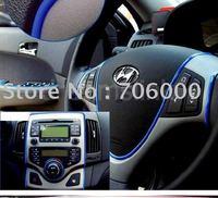 2011 New Brilliant Car Decoration Moulding Trim Stripe 6 Color Free Shipping