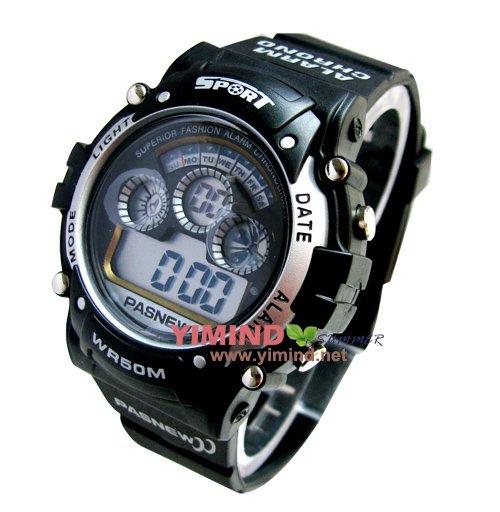 Наручные часы Pasnew_MEN&BOY Young Diving Swimming Waterresist Wterproof 50m Wrist Watch_&retail
