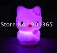 Hello Kitty Night Lamp Colorful Mini Lights 20pcs/lot & Free Shipping