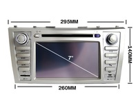 TOYOTA CAMRY Car DVD player with GPS/Bluetooth/Ipod/TV