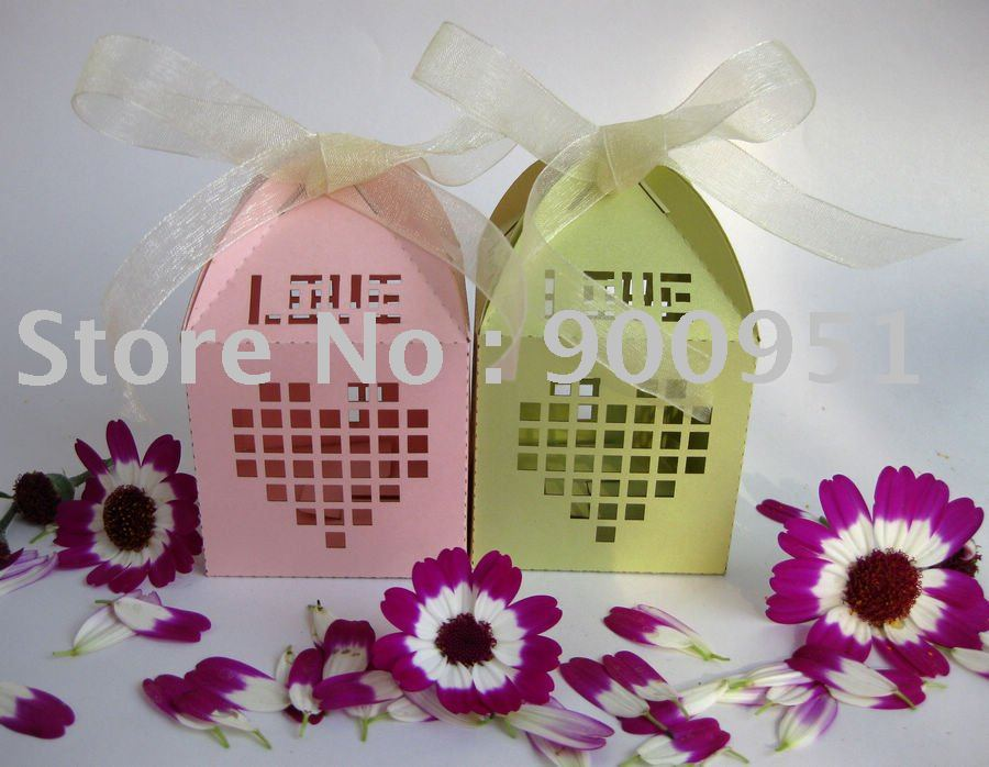 Zh-004 heart-shaped wedding cake box,free package and free logo design ...