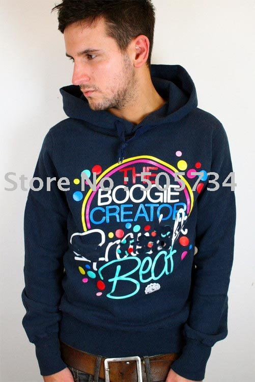 new man hoody , brand name boy hoody .Blue boy hoody . sizeS-XXL( free shipping)(China (Mainland))