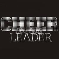 Wholesale 25PCS/LOT Korean Rhinestone Motif Cheer Leader Design Free Shipping