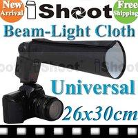 Foldable Flash Light Beam Snoot Cloth Soft box Softbox For Canon 580EXII 430EX 550EX 420EX