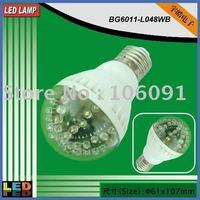 New design, high brightness,G60 3W led light bulb with E27,B22,E14,GU10 or MR16 socket