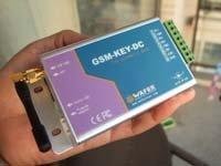 GSM remote control box for sliding gate (GSM-KEY-DC005)