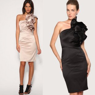 Black Lace Cocktail Dress on Dresses With Lace Ladies Sexy Party Skirt Night Bar Petite Dresses