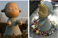 2012 new products ,The Little Pilgrim,Yoshitomo Nara 's works ,Night Walk,Christmas gifts,Birthday's gift Free shipping +Girt