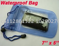 Waterproof Dry Bag Kayak Canoe Floating Camp Blue for Mobile Phone . Digital Camera