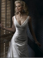 plus size wedding dresses Free Shipping 2011 new Best selling high fashion dress
