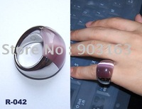 New 1pcs best selling Guaranteed 100% modish Stainless Steel & Opal  Ring + free shipping size 7