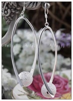 Free shipping 925  Silver Earrings--Specially designed Earrings--Fashion Jewelry