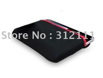 "1pcs/lot black Soft Neoprene Sleeve Case Bag For 10"" Laptop iPad hot sell"