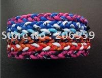 2011 popular braided titanium sports necklace