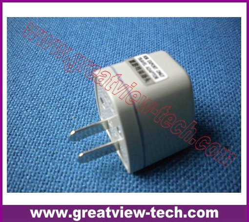 Wholes sales discount promotion 100pcs/lot Universal Power Travel Adapter Plug AC for USA US Canada(China (Mainland))