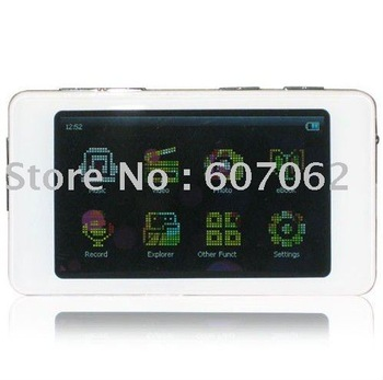 Ramos 2.8 Inch Screen Semi-transparent MP5 / MP4 / MP3 Player ,1pc/lot,free shipping