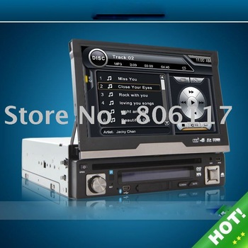 "HOT !!7"" touch screen Car DVD player with GPS+BLUETOOTH+Analog TV+DVB-T +"