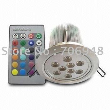 5pcs/lot 27W RGB LED Ceiling Light, Suitable for Artwork Lighting