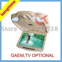 X118 - 11 inch high resolution car roof mount DVD player-game,tv optional