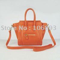 Free shipping to all countries hot selling  lady's Handbag mini size boston bag nano Bag Guaranteed 100%(camel)