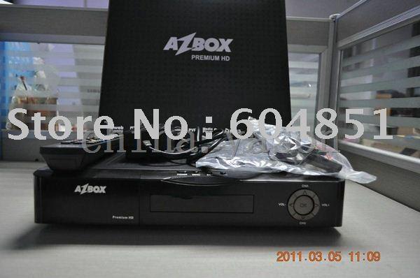 AZBOX HD premium satellite receiver(China (Mainland))