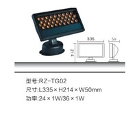 New 24W LED Floodlight, LED advertising lights, 24*1WLED outdoor spot light,High Quality+ Free shipping