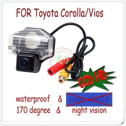 CCD HDSpecial Car Rear View reverse backup Camera for Toyota Corolla/Vios 2007-2011(China (Mainland))