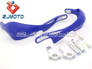 "Universal MOTORCYCLE MOTOCROSS DIRTBIKE MX ATV HAND GUARDS For 7/8"" Handlebar blue"