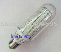 Free shipping  5PCS E27 12W 198* 3528SMD LED bulb led lamp led corn light white / warm white