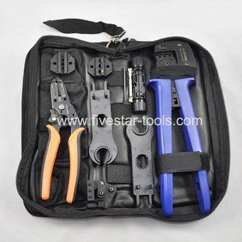 MC4/MC3 Crimper/Solar Crimping Tool Kits for 2.5-6.0mm2 MC3/MC4 connectors