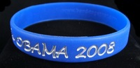 DHL FREE Customized color filled in bracelet; silicone wristband; promotional gifts