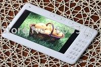 Free shipping&white-fantastic Digital Pocket Edition 4G 7 Inch  Ebook Reader