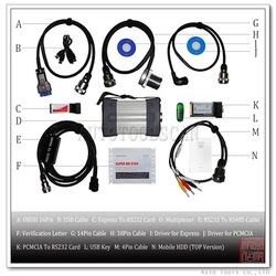Super MB STAR 2011 Mercedes Benz Diagnostic Tool software update online and fit any laptop(Hong Kong)