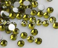 SS4(1.5mm)--High Shine 1440pcs/bag Olivine  /Nail rhinestone flat back/ nail art/ Cellphone decal diamond