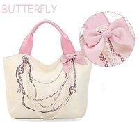 2011 New Design of Lady's HandBag/Fashion Bowknot handbag/Lady's Single shoulder bag