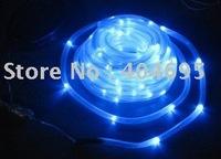 Free shipping Solar Tube Lights / solar string ,solar neon / blue color underwater light 100LED / Christmas Lights blue