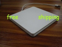 Free shipping&Super slim slot-in  External Laptop USB2.0 DVD-RW Drive-White