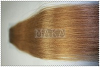 pu tape weft in hair extension Grade AAA 18inch #12 light color free shipping