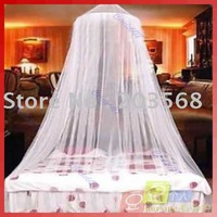 Free shipping!10pieces /lot Dome Elegent Lace Bed Netting Canopy Mosquito Net New