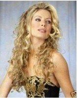 2011 New Long Platinum-Blonde Fashion Curly wig Free shippingRRR