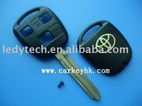 Toyota Toy43 3 buttons remote key shell